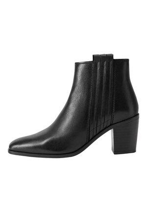 HALBSTIELFEL - Classic ankle boots - schwarz