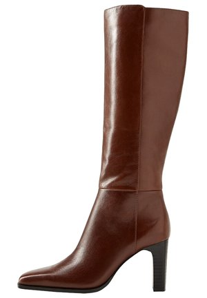 DIVA - High heeled boots - brown
