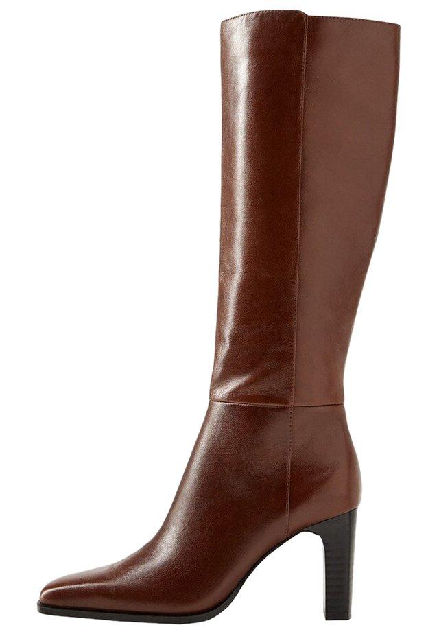 DIVA - Højhælede støvler - brown