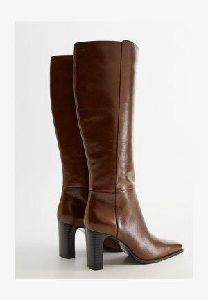 DIVA - High heeled boots - brown