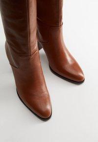 Mango - NORA - Støvler - brown - 5