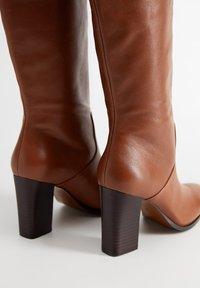 Mango - NORA - Støvler - brown - 4