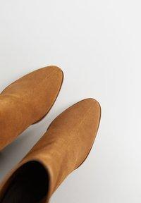 Mango - LILLE - Støvletter - sandfarben - 5