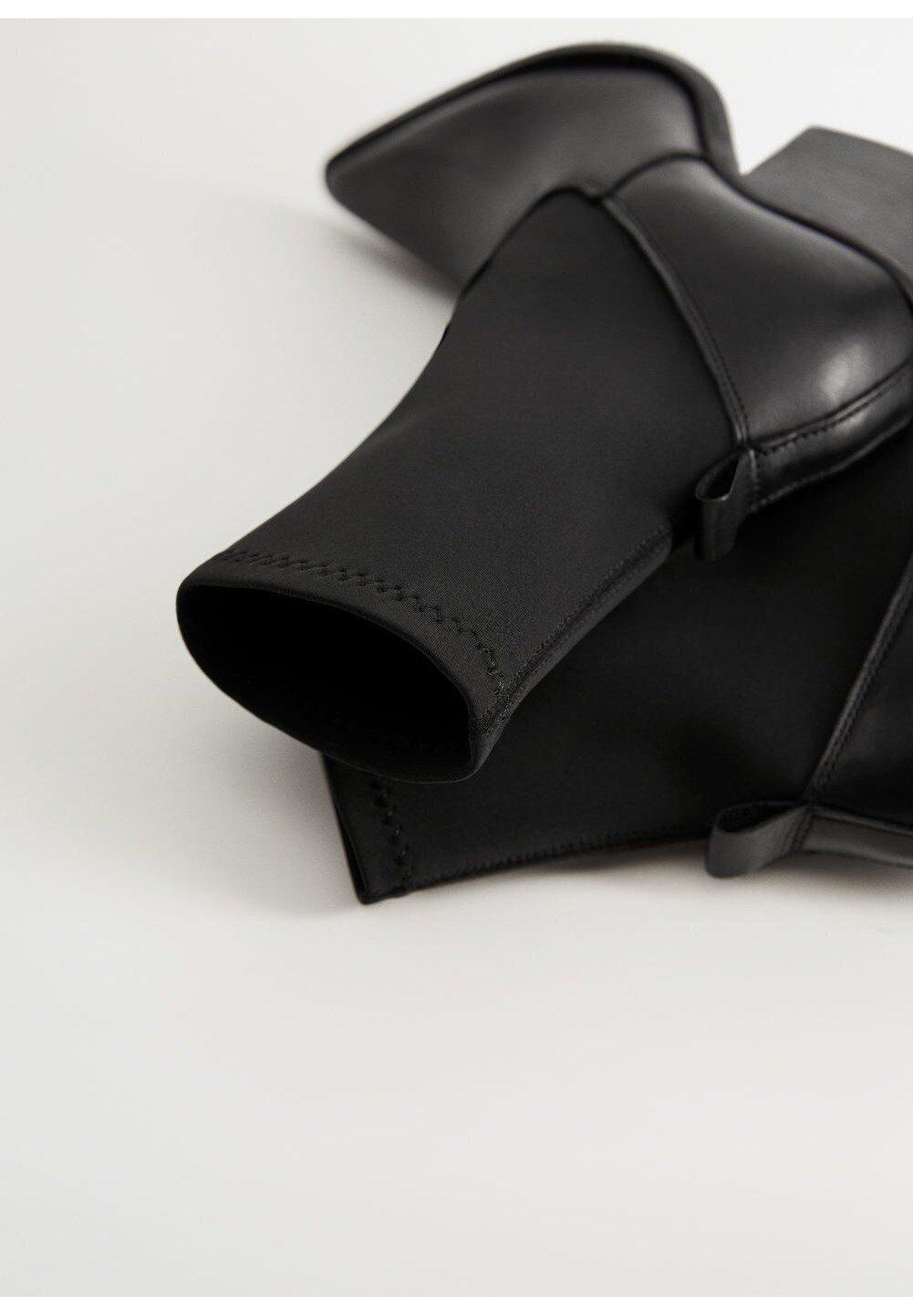 Mango ROTA - Højhælede støvletter - schwarz