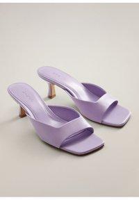 Mango - CAPO - Sandals - lila - 2