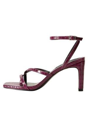 MIA - High heeled sandals - pflaume
