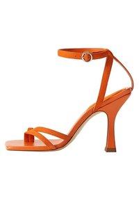 Mango - ALTO - Sandaler med høye hæler - orange - 0
