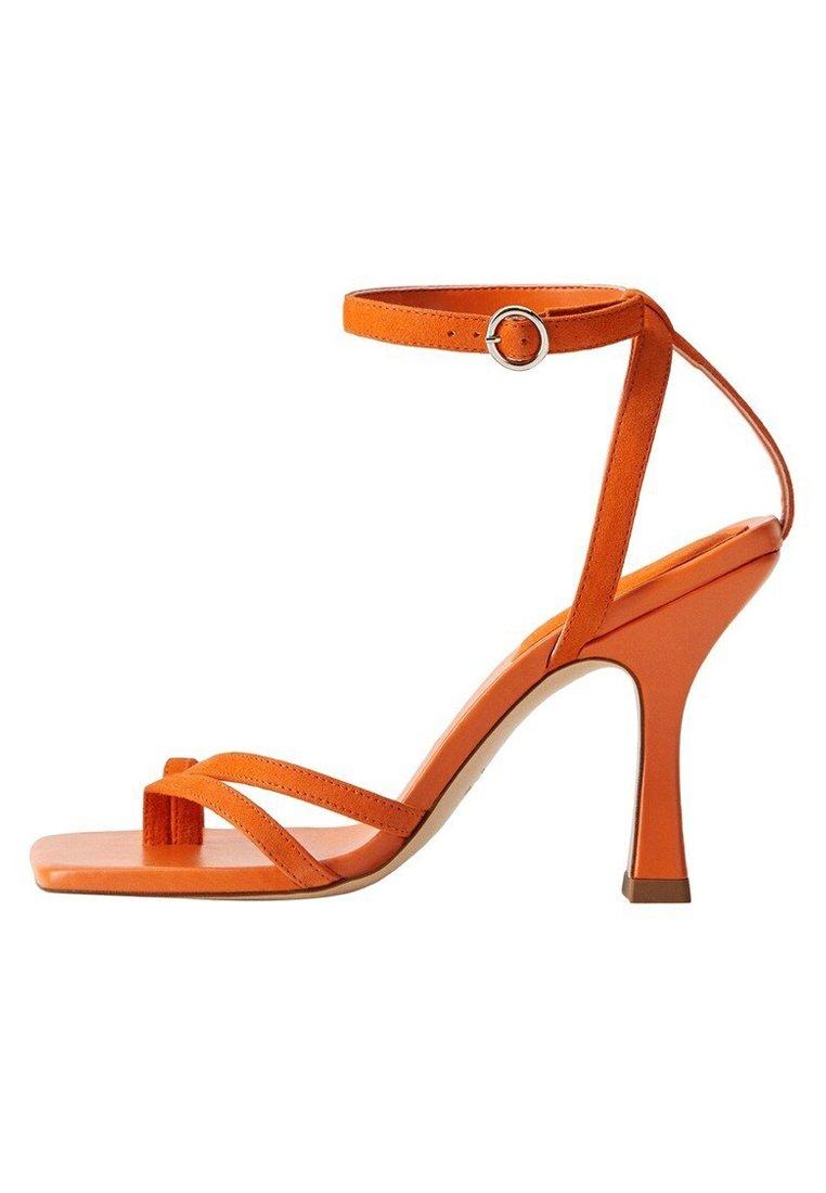 Mango - ALTO - Sandaler med høye hæler - orange