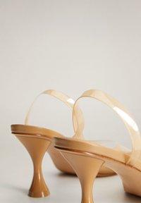 Mango - TATI - Sandaler med høye hæler - okker - 5