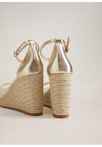 Mango - ELE - High heeled sandals - gold - 3
