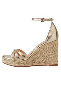 Mango - ELE - High heeled sandals - gold - 0
