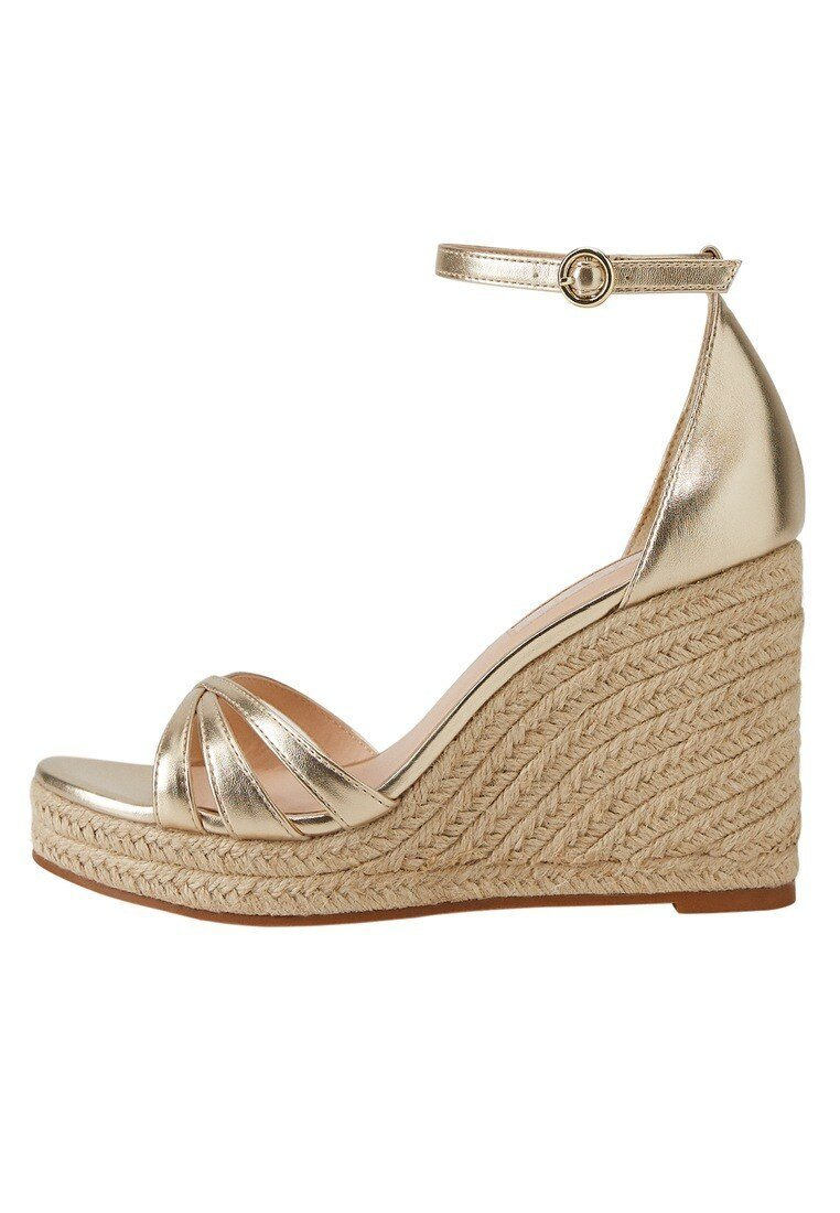 Mango - ELE - High heeled sandals - gold