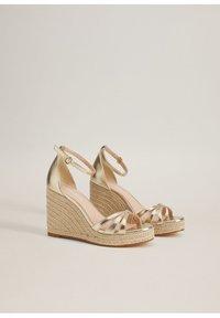 Mango - ELE - High heeled sandals - gold - 4