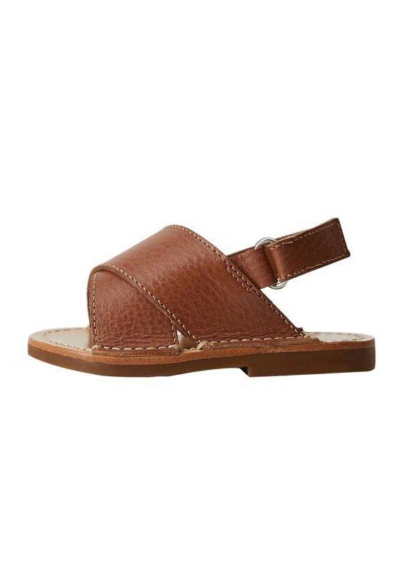 COLUMBIN - Lær-at-gå-sko - bruin