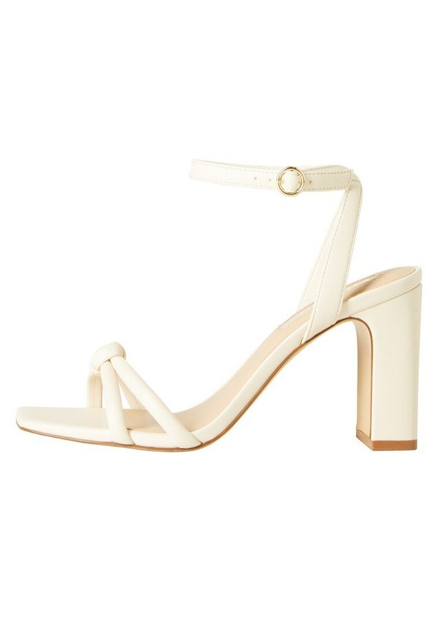 OUT - High heeled sandals - eisgrau