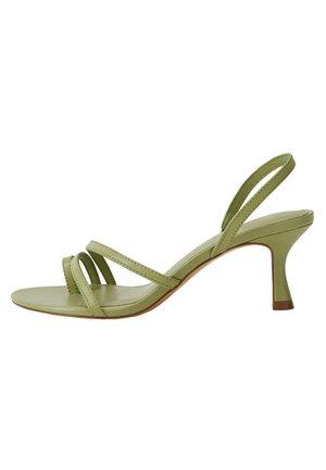 Sandały z cholewką - waldgrün