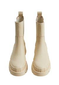 Mango - RAIN-I - Platform ankle boots - blanc cassé - 1