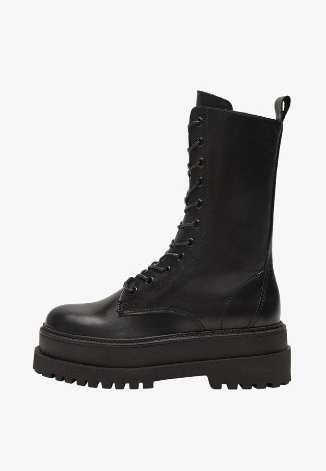 MONET - Platform boots - black