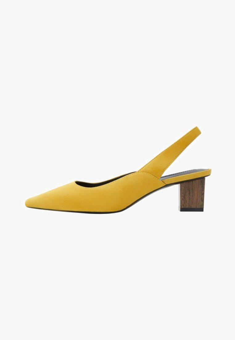 Mango - CROSE - Pumps - mustard yellow