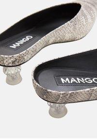 Mango - CRYSTAL - Sandaler - grey - 3