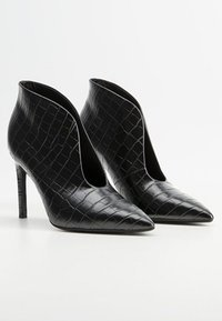 Mango - PICO - High heeled ankle boots - black - 2