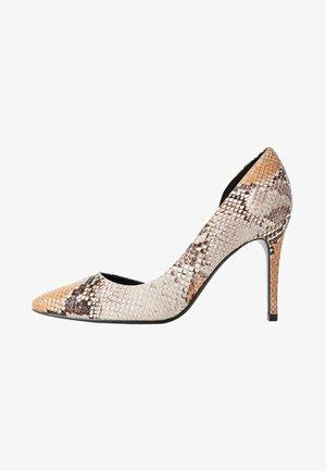AUDREY - Zapatos altos - beige