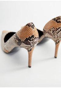 Mango - AUDREY - High heels - beige - 3