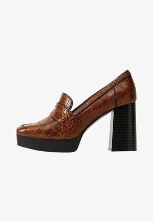 DISCO - High heels - brown
