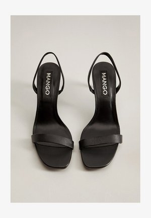 CORA - Sandalias - schwarz