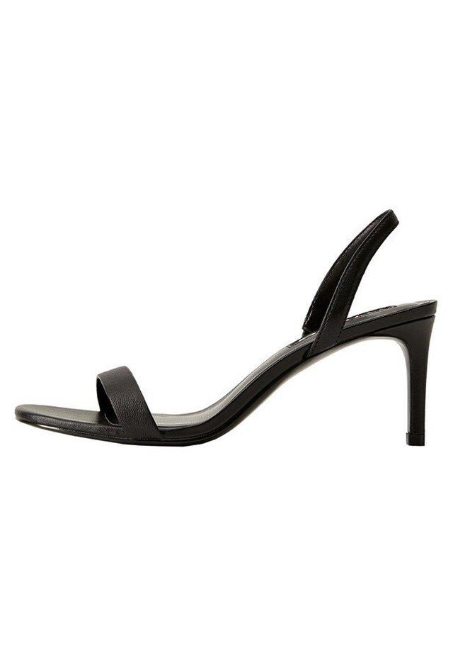 CORA - Sandals - schwarz