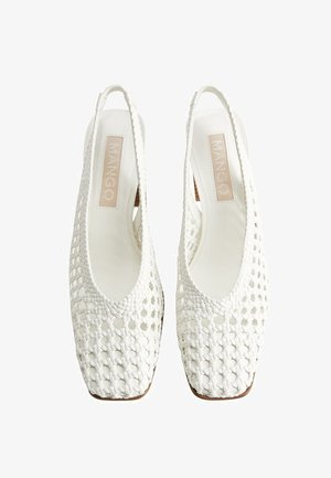 NICE - Zapatos altos - white