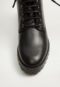 Mango - MILI - Snørestøvletter - black - 6