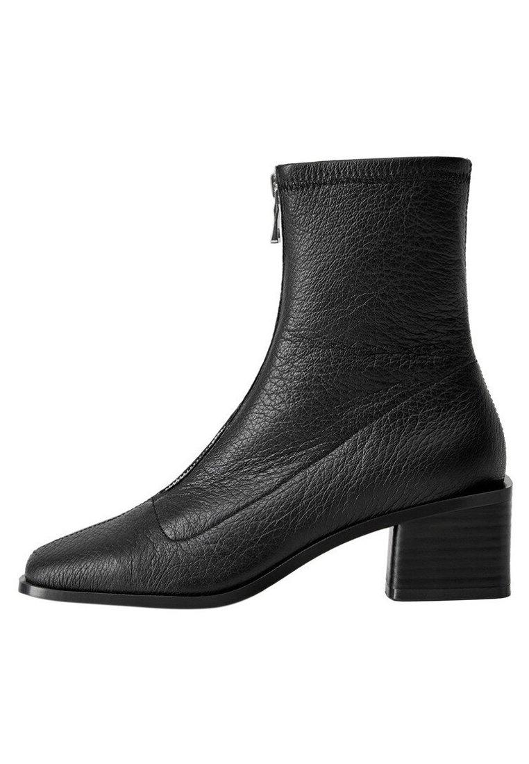 Mango - ZAPE - Classic ankle boots - schwarz