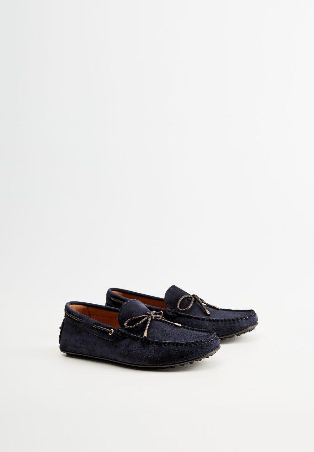 Mango GOMET - Slip-ins - blau