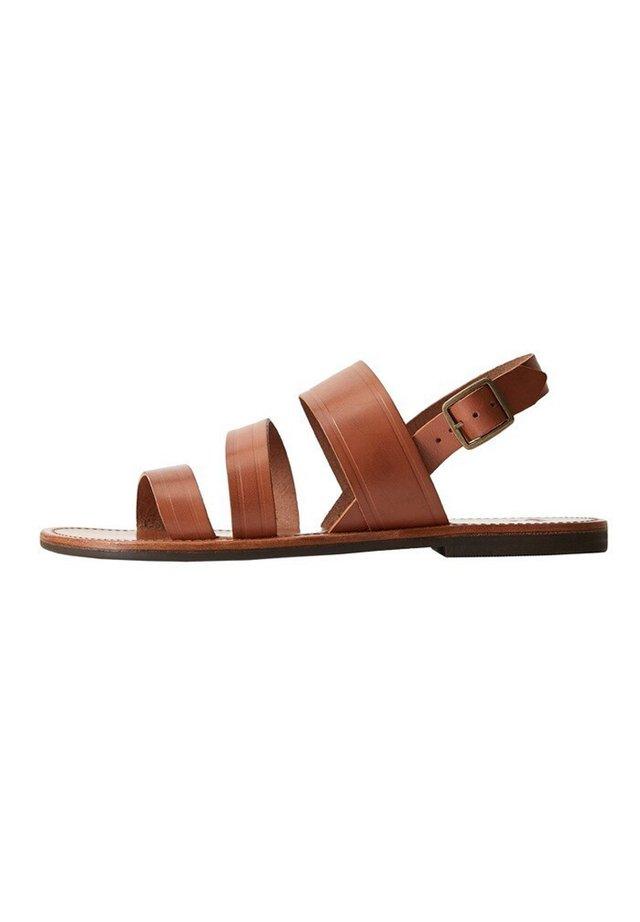 JAVEA - Sandały - medium brown