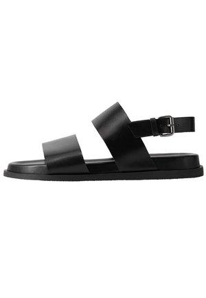 BARNA - Sandals - schwarz