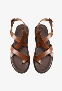 Mango - ROMA - Sandals - mittelbraun - 1
