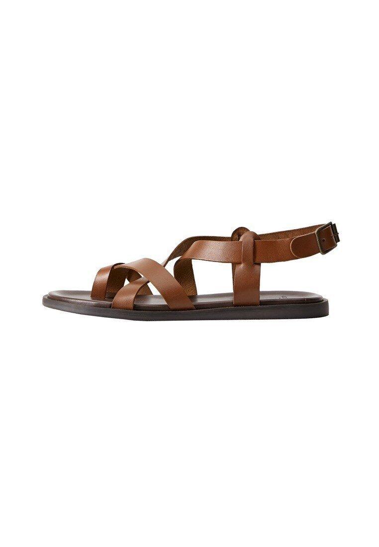 Mango - ROMA - Sandals - mittelbraun