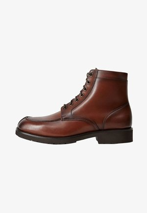 BORDON - Lace-up ankle boots - brown