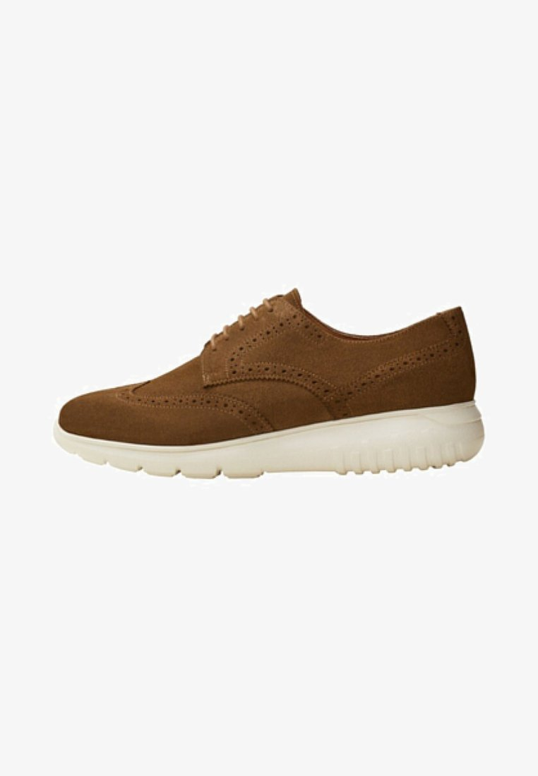 Mango - CASUAL - Casual lace-ups - brown