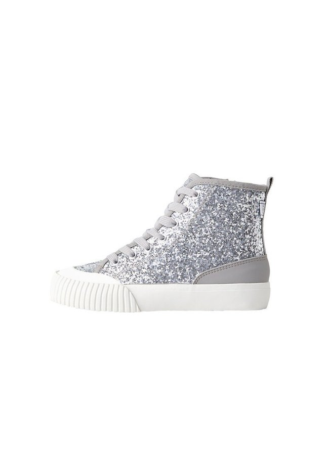 DAKOTA - Sneakers high - silber