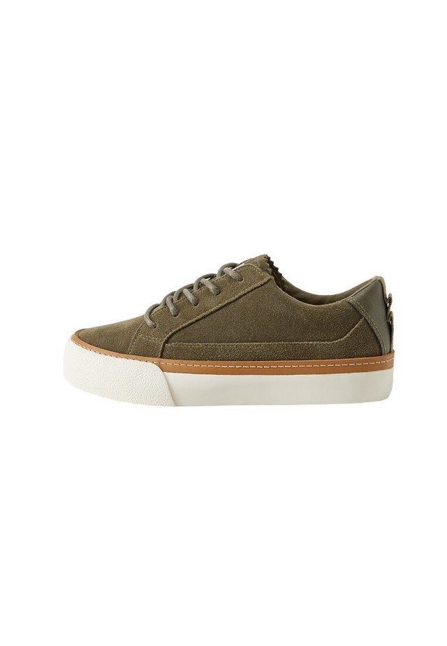 GLEN - Matalavartiset tennarit - khaki