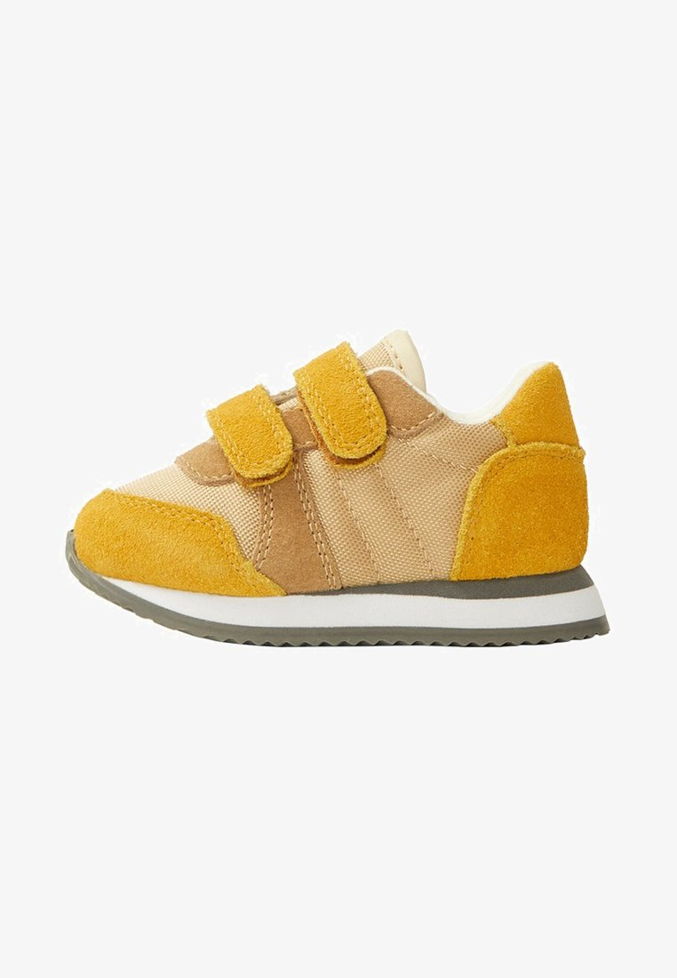 Mango - ROC - Touch-strap shoes - mosterd