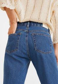 Mango - SAYANA - Jeans Straight Leg - dark blue - 5