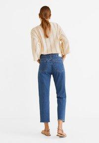 Mango - SAYANA - Jeans Straight Leg - dark blue - 2