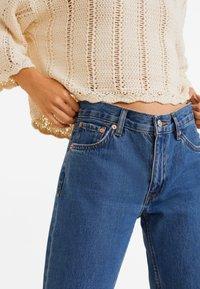 Mango - SAYANA - Jeans Straight Leg - dark blue - 4