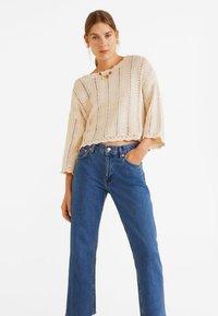 Mango - SAYANA - Jeans Straight Leg - dark blue - 3