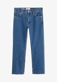 Mango - SAYANA - Jeans Straight Leg - dark blue - 6