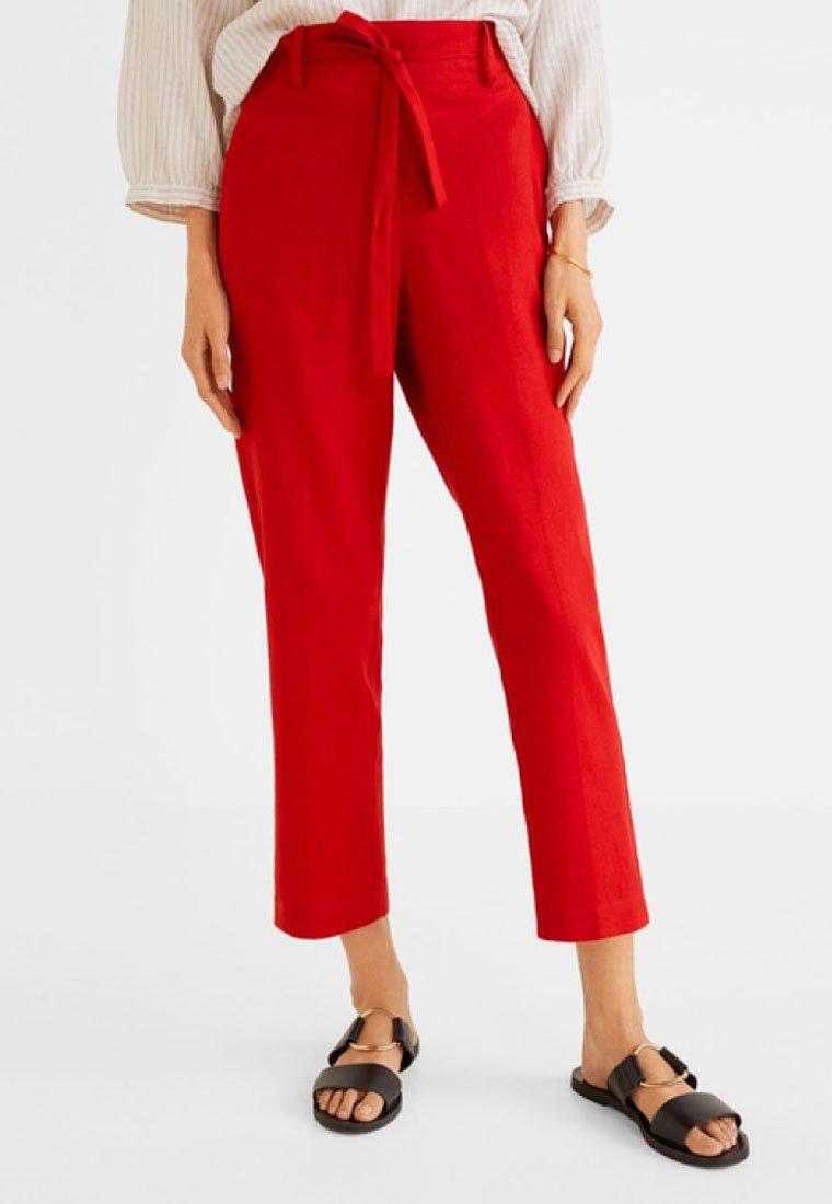 Mango - SEMILI - Pantaloni - red