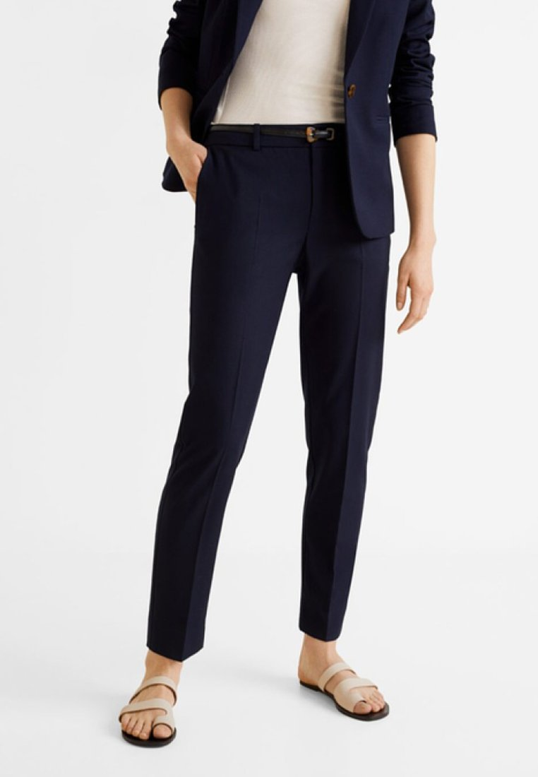 Mango - BOREAL - Trousers - dark blue